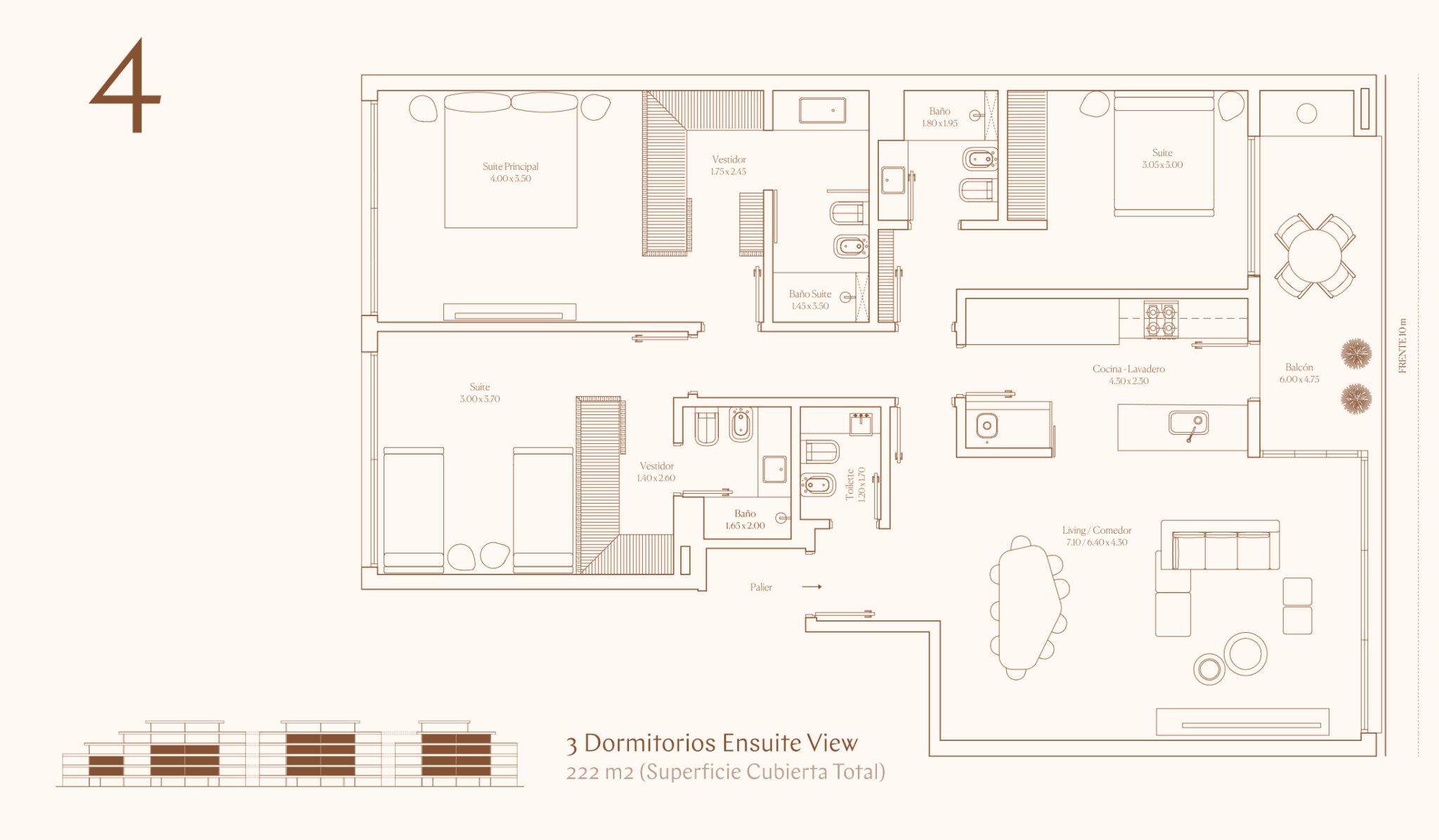 3 Dormitorios Ensuite View